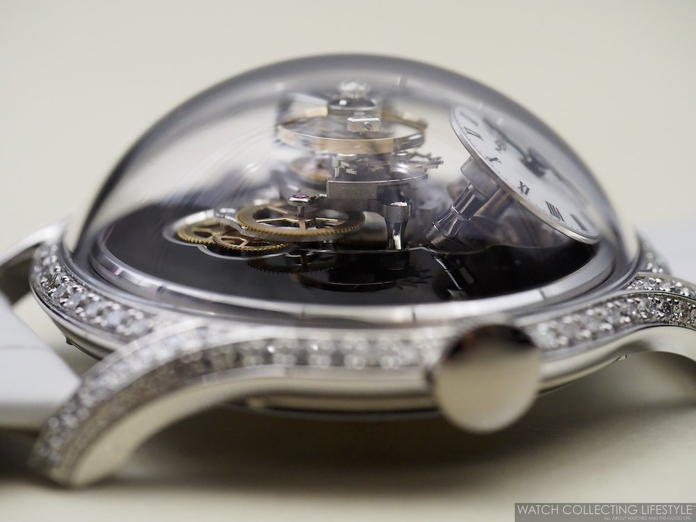 MB&F Legacy Machine FlyingT Ladies Watch