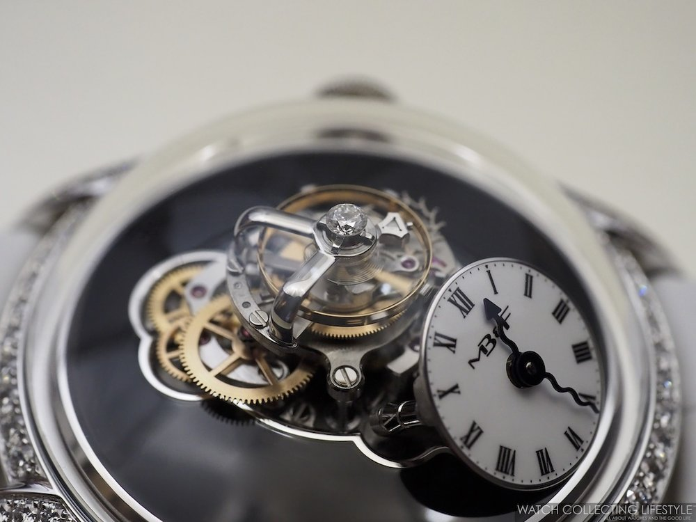 MB&F Legacy Machine FlyingT Diamond