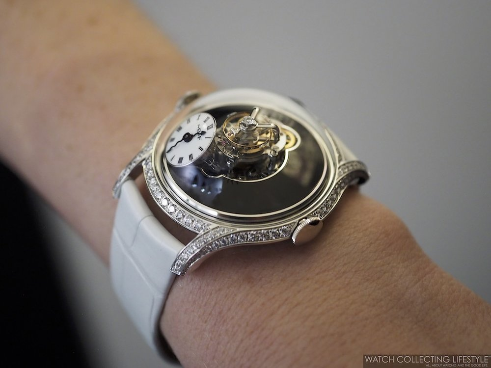 MB&F Legacy Machine FlyingT Wristshot