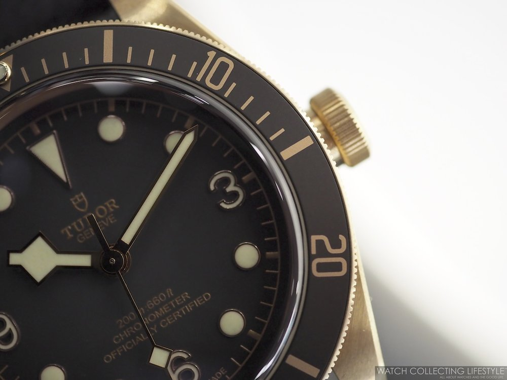 9ef19f67709 Baselworld 2019  Tudor Black Bay Bronze Slate Grey ref. M79250BA-0001. Live