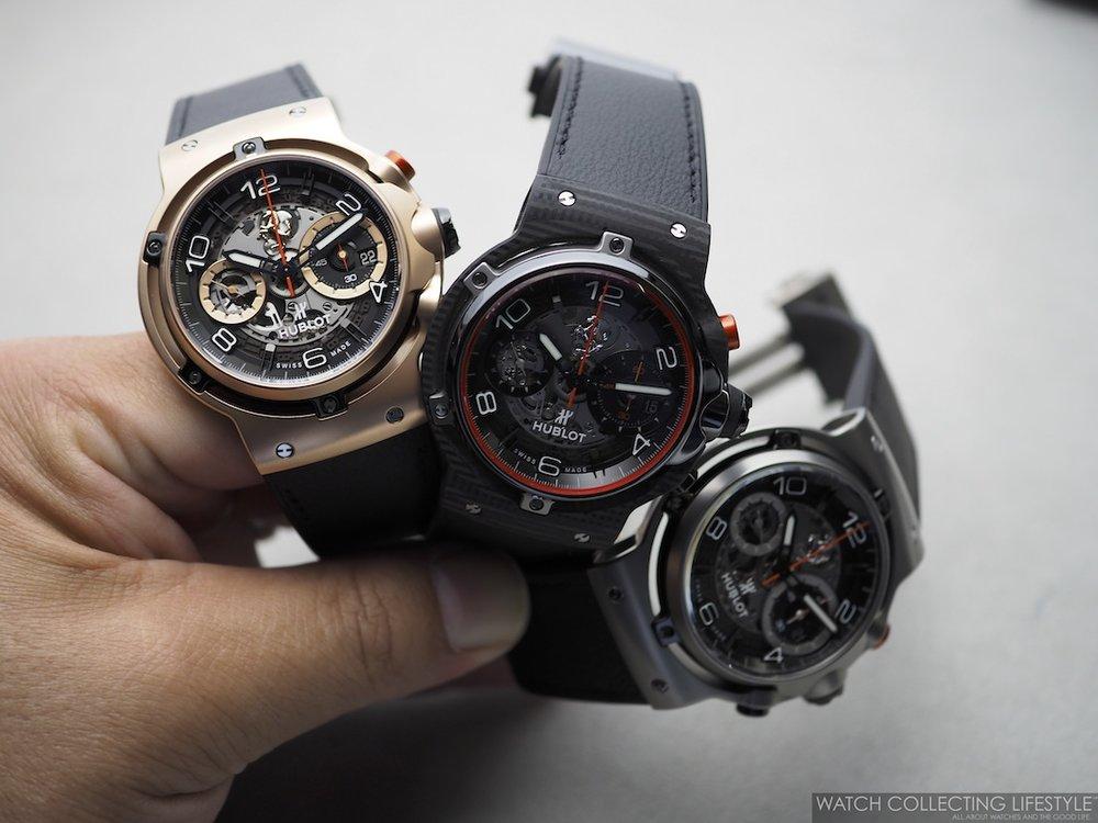 Hublot Classic Fusion Ferrari GT Three Watches WCL