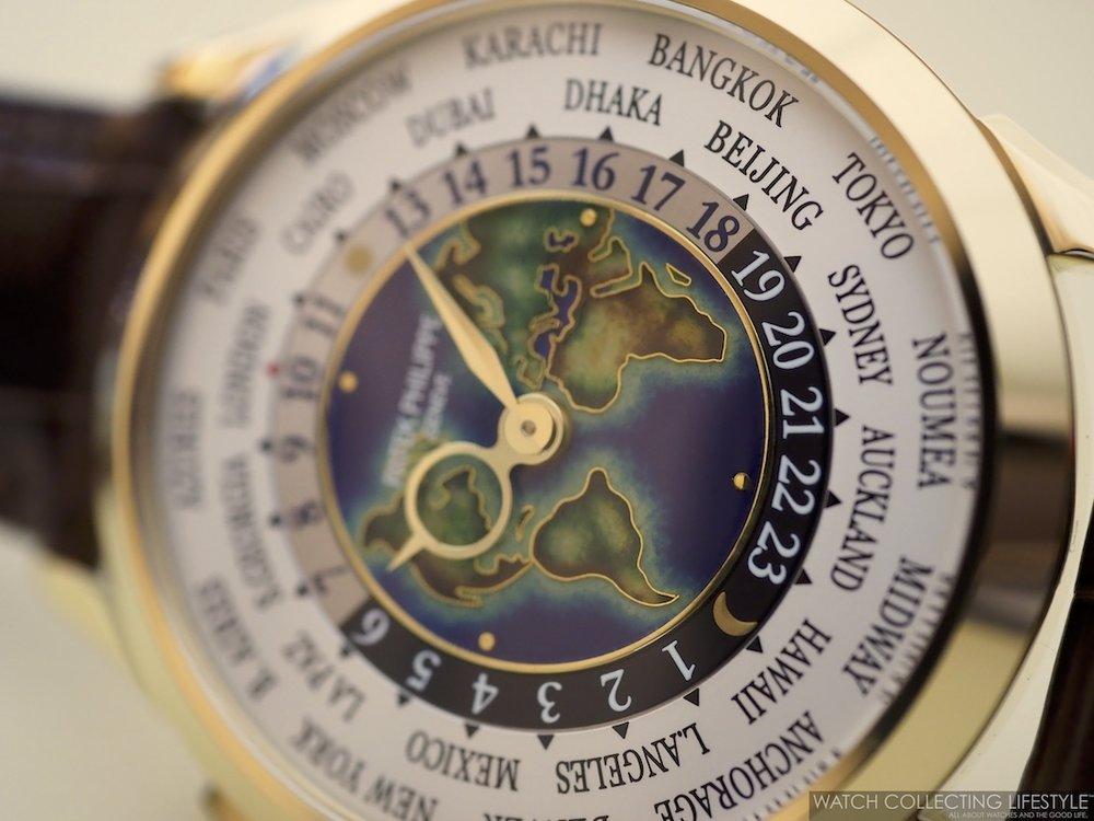 Patek Philippe World Time ref. 5231J Cloisonné Dial