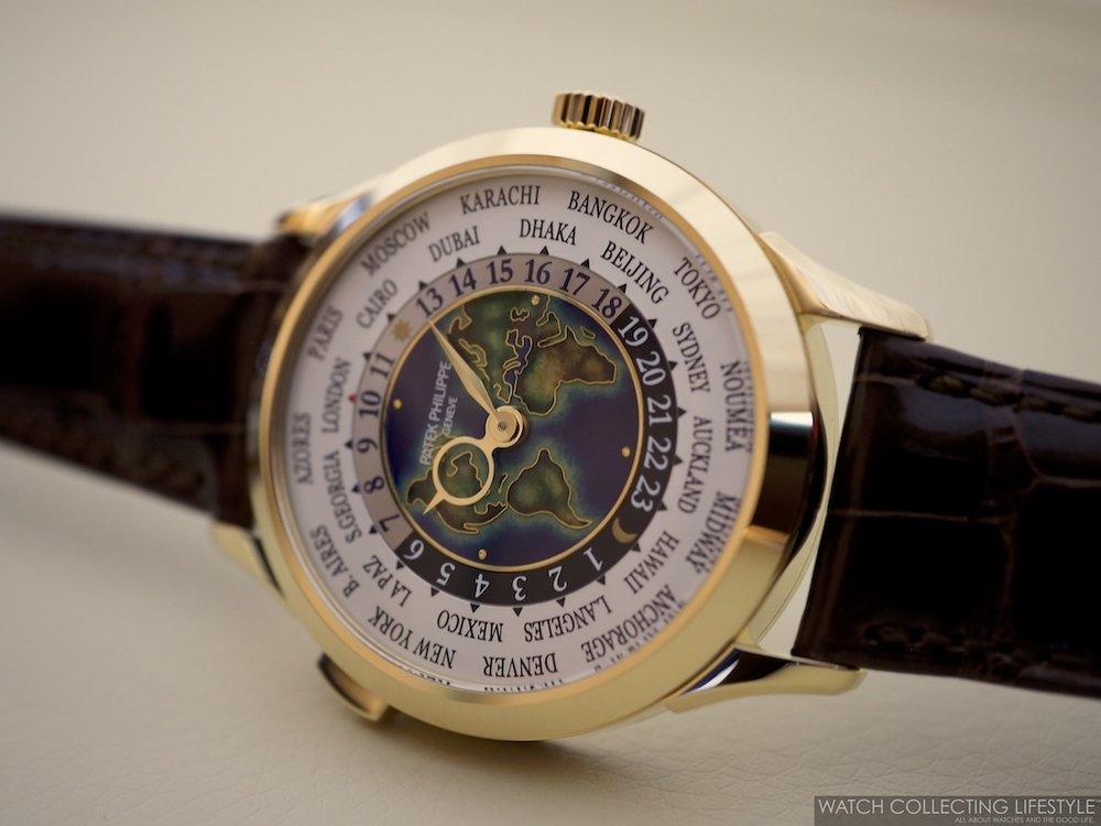 Patek Philippe World Time ref. 5231J Cloisonné Dial WCL