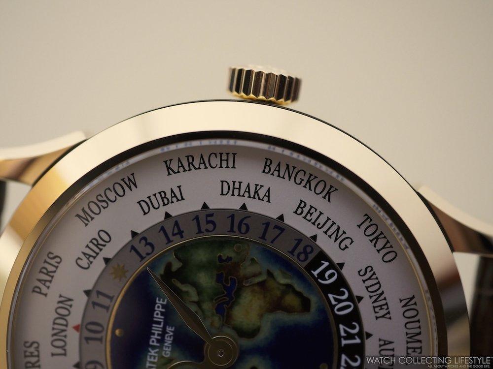 Patek Philippe World Time ref. 5231J Cloisonné Dial WCL4
