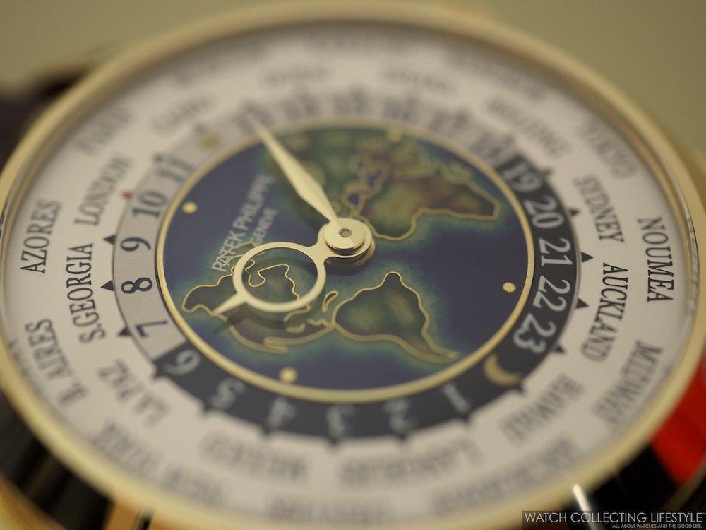 Patek Philippe World Time ref. 5231J Cloisonné Dial WCL6