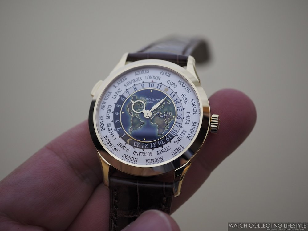 Patek Philippe World Time ref. 5231J Cloisonné Dial Hands-on Review