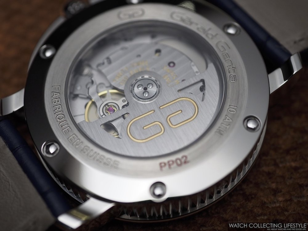 Bulgari Gerald Genta 50th Anniversary Movement