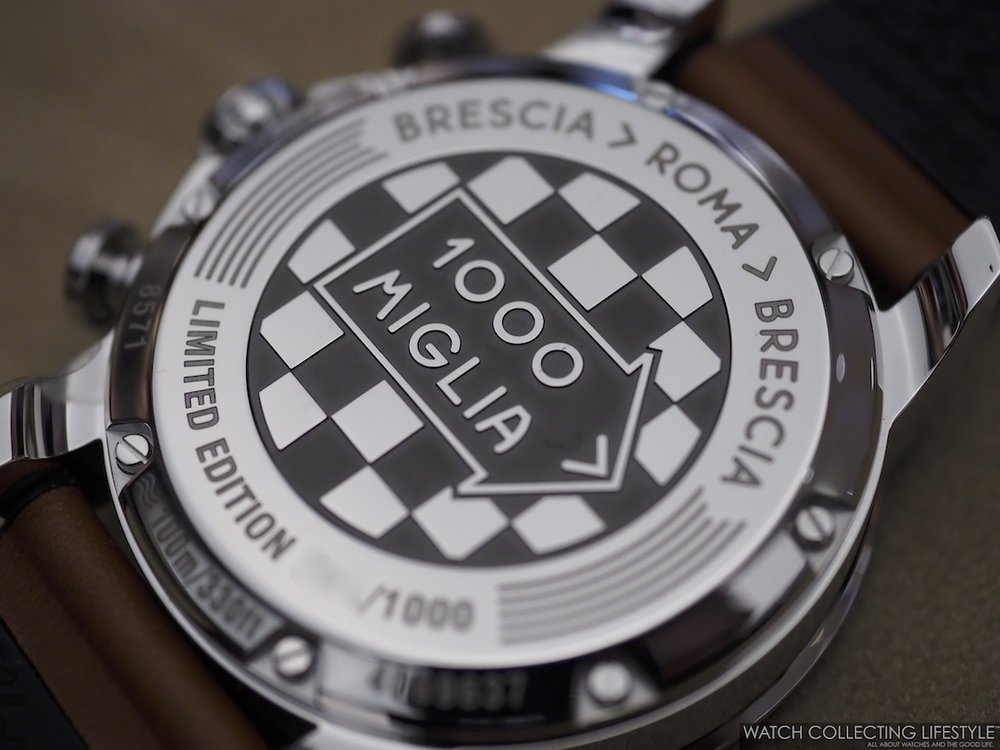 Chopard Mille Miglia 2019 Race Edition Case Back