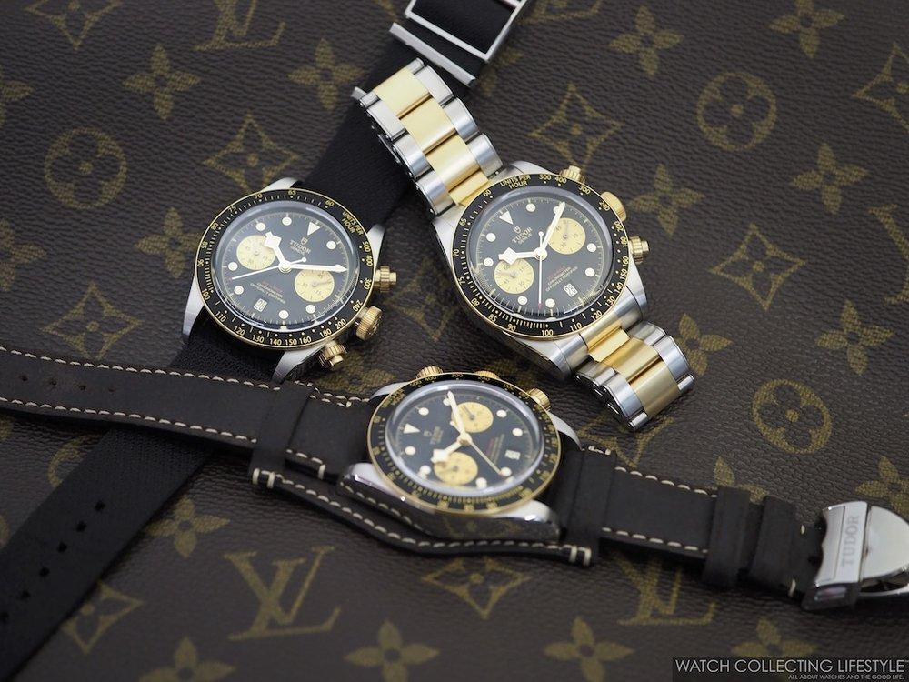 Tudor Black Bay Chrono Steel & Gold ref. MT5813 WCL