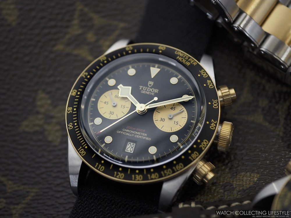 Tudor Black Bay Chrono Steel & Gold ref. MT5813 WCL3