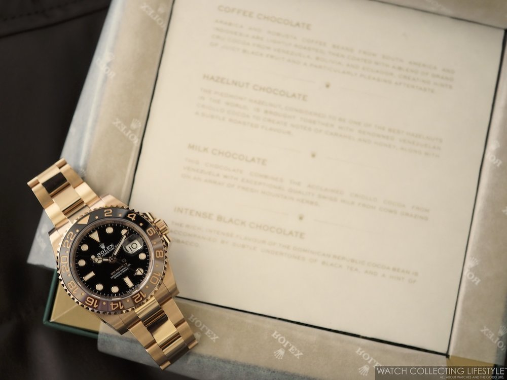 Rolex Baselworld Chocolates and GMT Master II Everose Rootbeer WCL2