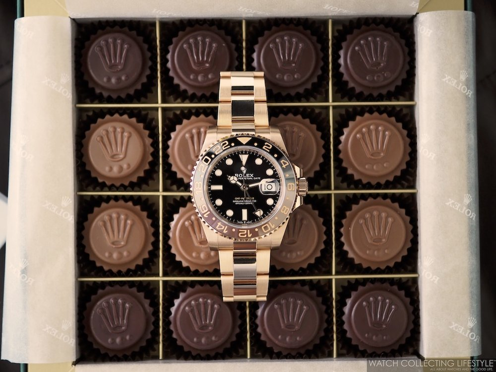Rolex Baselworld Chocolates and GMT Master II Everose Rootbeer WCL5