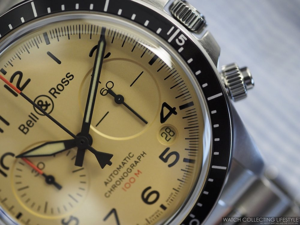 Bell & Ross BR V2-94 Military Beige Chronograph WCL