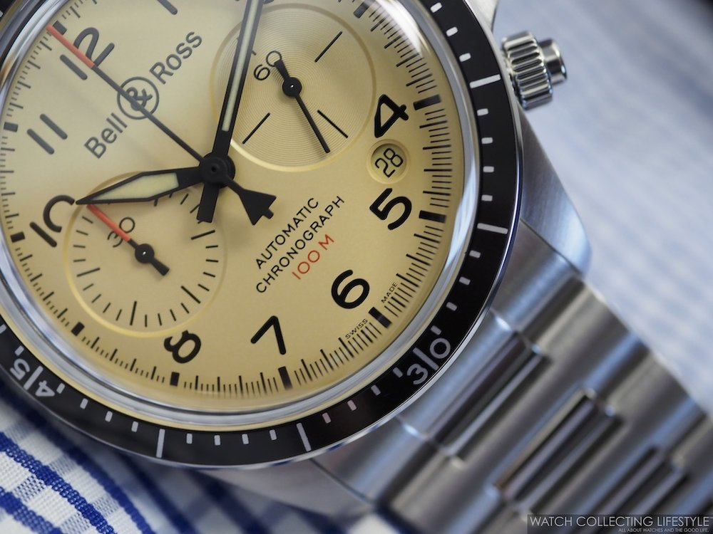 Bell & Ross BR V2-94 Military Beige Chronograph WCL4