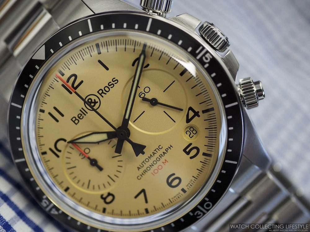 Bell & Ross BR V2-94 Military Beige Chronograph WCL5