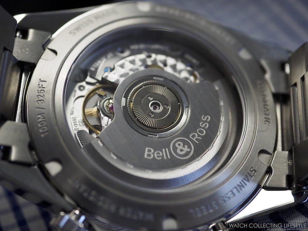Bell & Ross BR V2-94 Military Beige Chronograph Movement