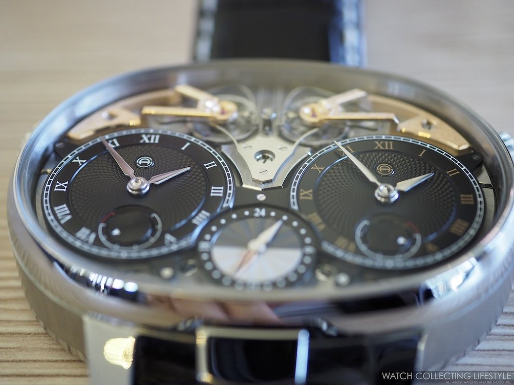 Armin Strom Masterpiece 1 Dual Time Resonance Sapphire