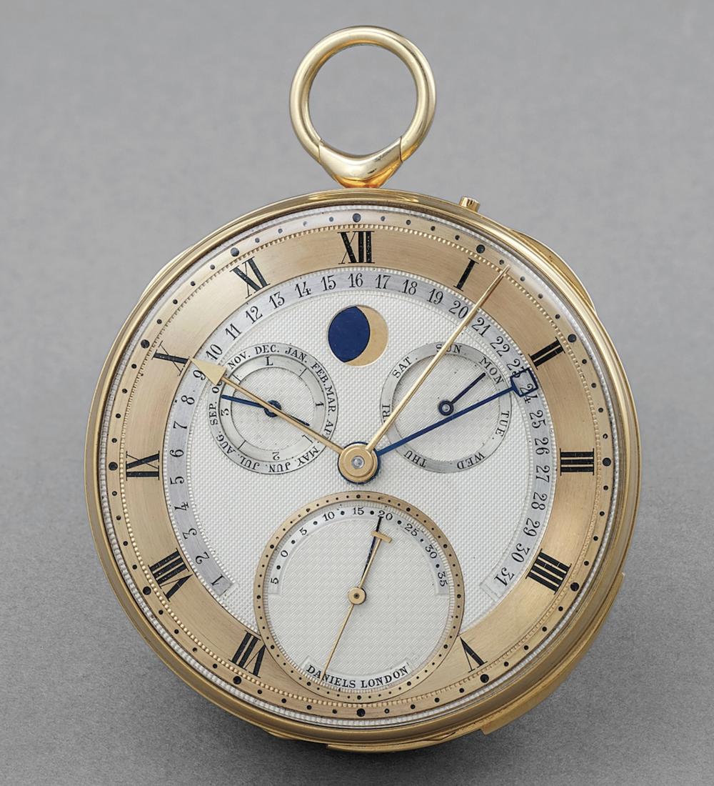 George Daniels Pocket Watch Phillips Watches