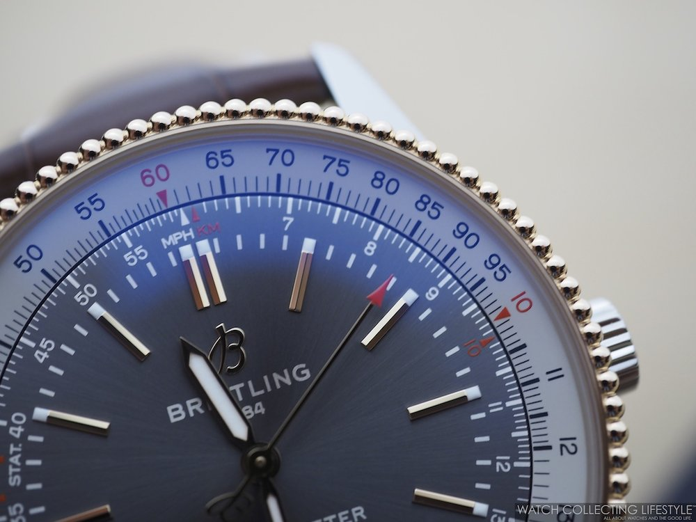 Breitling Navitimer Automatic 41 Steel and Gold Anthracite