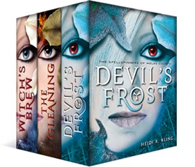 First three books in the bestselling series for one magical price!