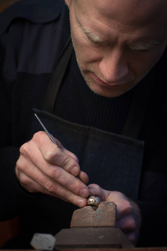 Garvan Traynor,  Jeweller, Belfast, County Antrim.  ©Laurence Gibson, All rights reserved, 2012.   Continuing with NI Artists Series. Amazing to see how a real craftsman such as Garvan works, a true gentleman.