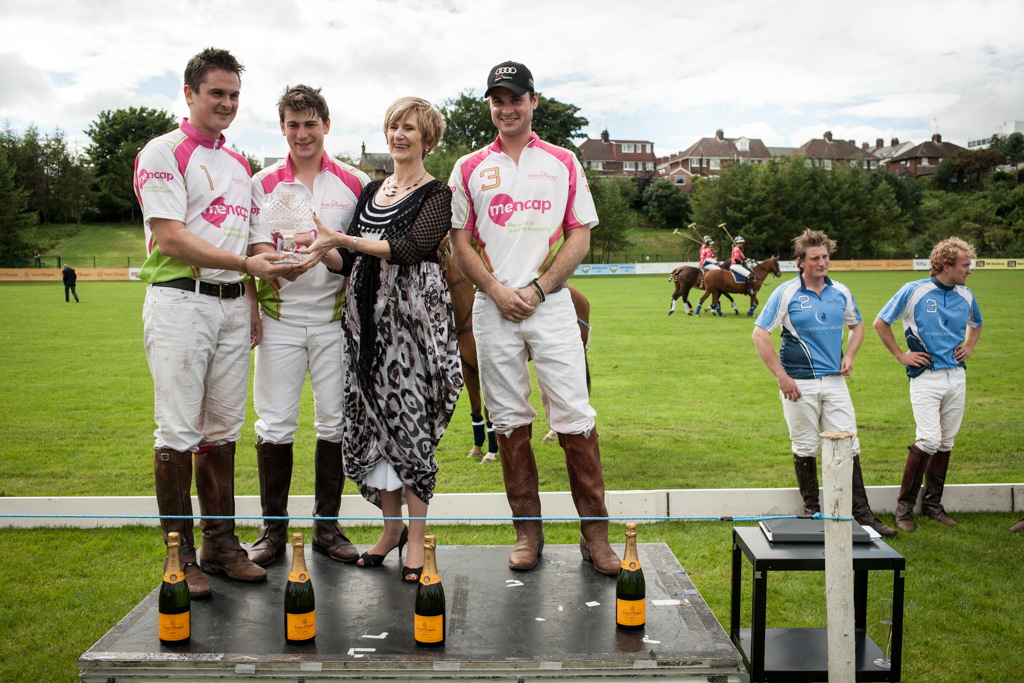 Winners and Losers at Mencap Charity Polo Match, Belfast, County Antrim, Northern Ireland.  ©Laurence Gibson, All rights reserved, 2012.