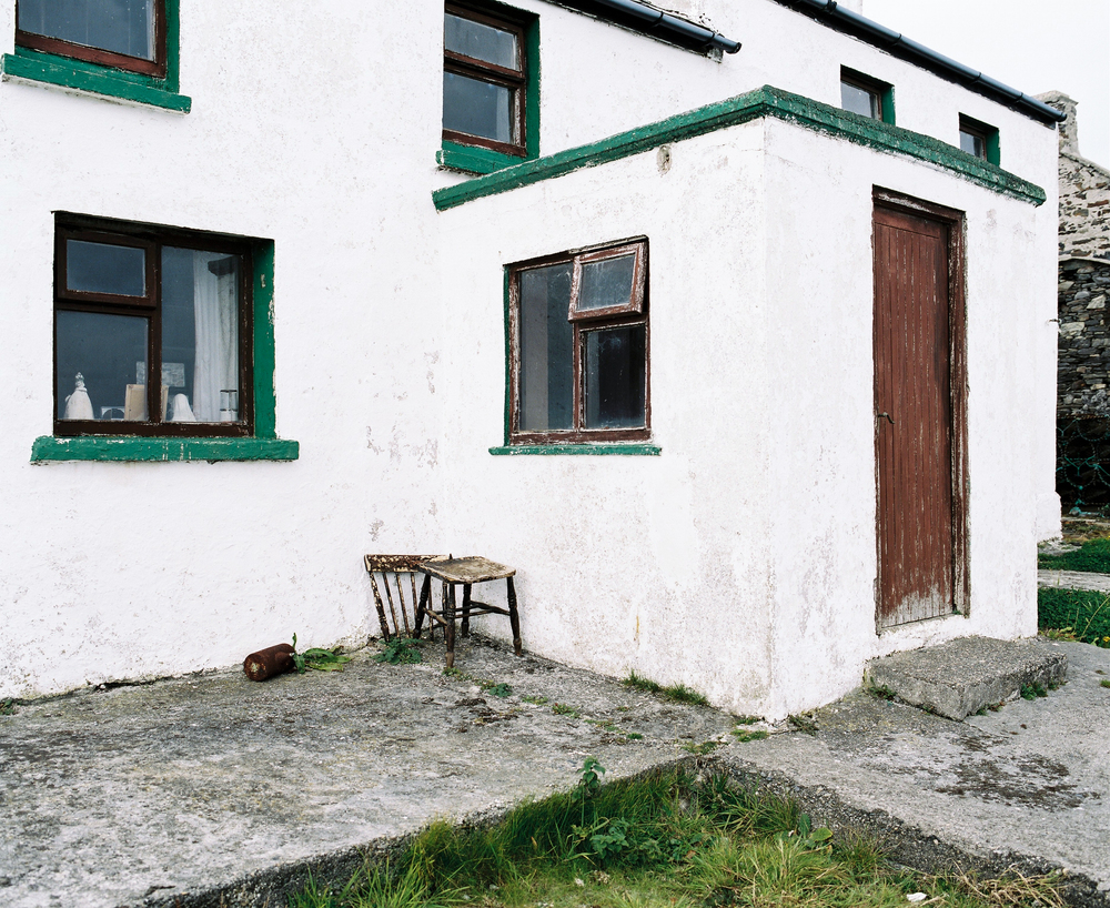 House on Inishbofin Island, County Donegal, Republic of Ireland. ©Laurence Gibson