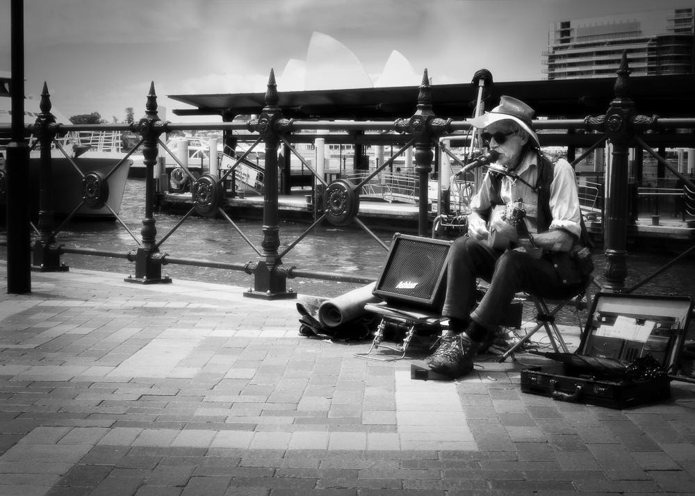 """Sydney Music Man"""