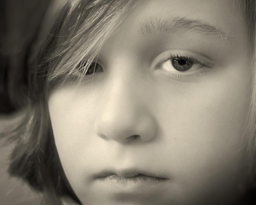 """Serious Boy"""