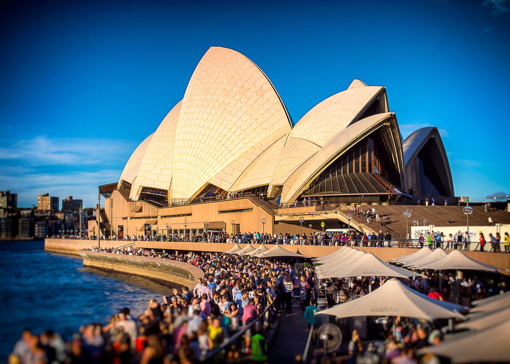 """Evening At The Opera House"""