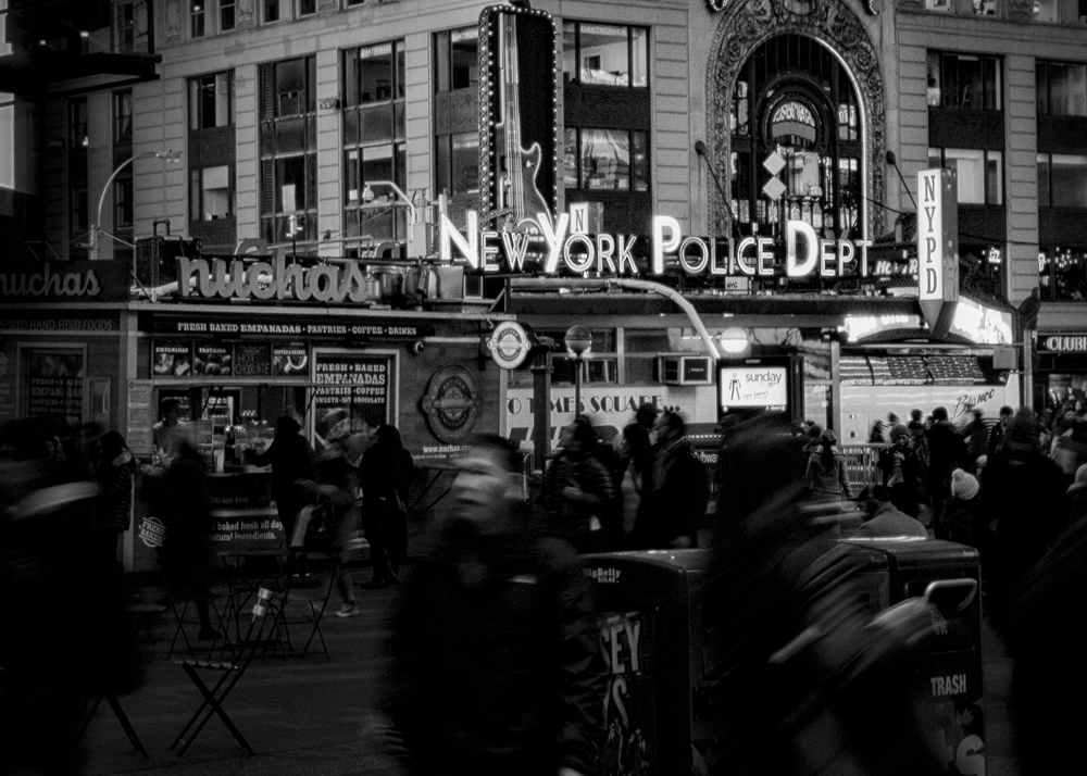"""""""NYPD - Times Square"""""""