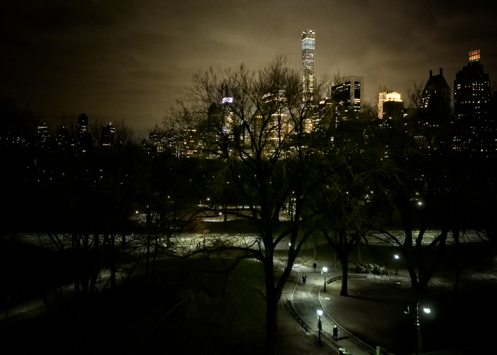 """Central Park at Night"""
