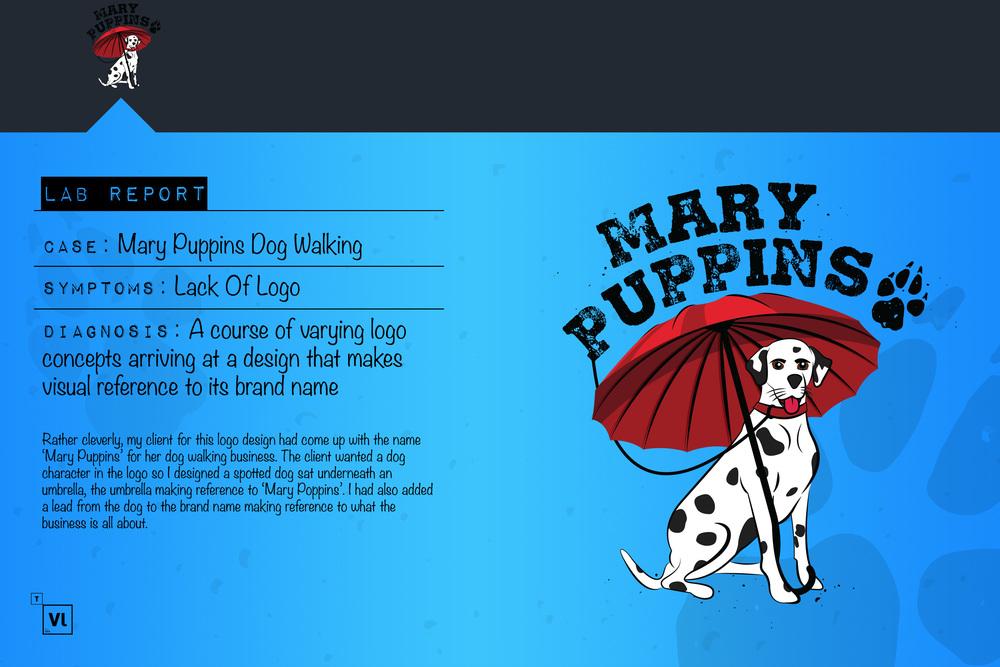 dog walking business cards 100