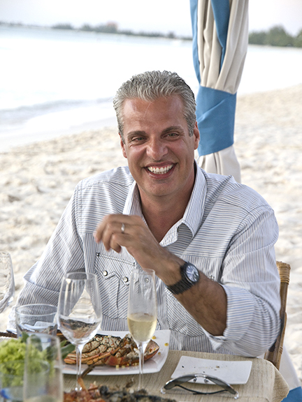 Eric dining on beach.jpg