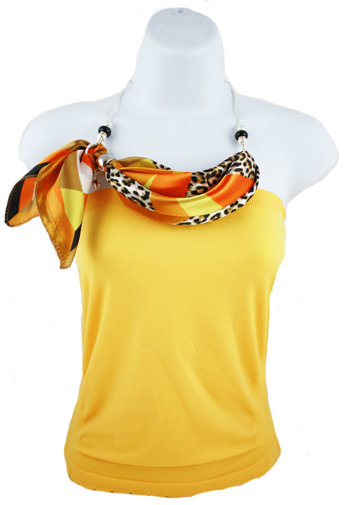 74a97590840 Kathleen (scarf necklace) — Kafari Scarf