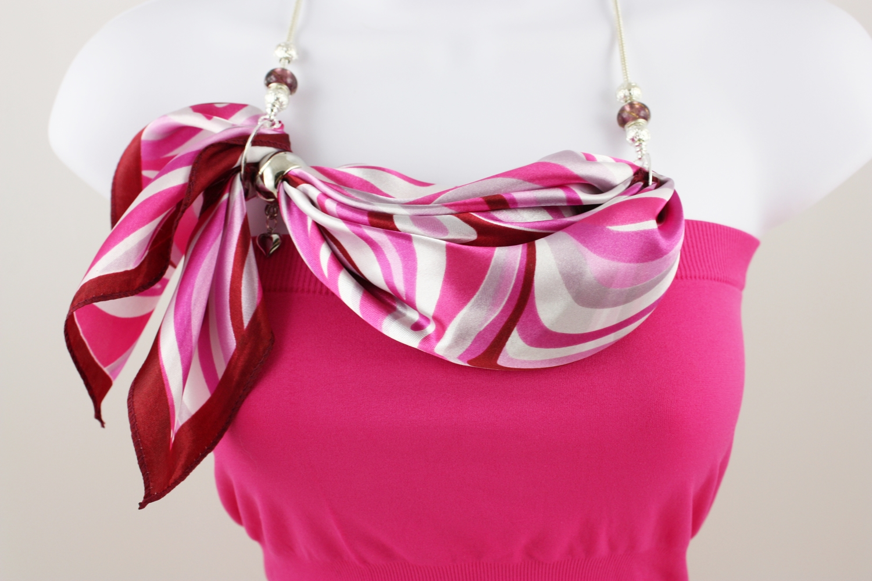 395582a3b88 Lauren (scarf necklace) — Kafari Scarf