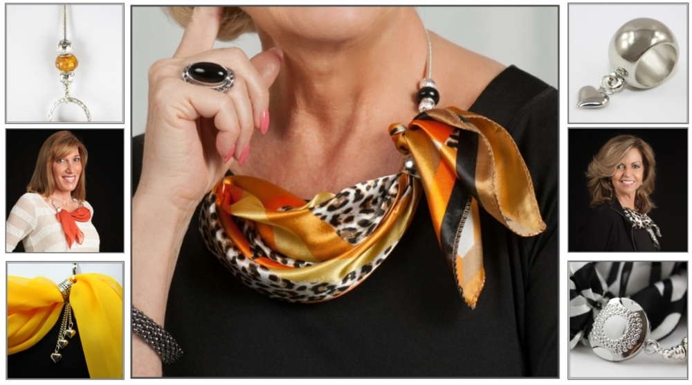 """""""A necklace to put your scarf in"""""""