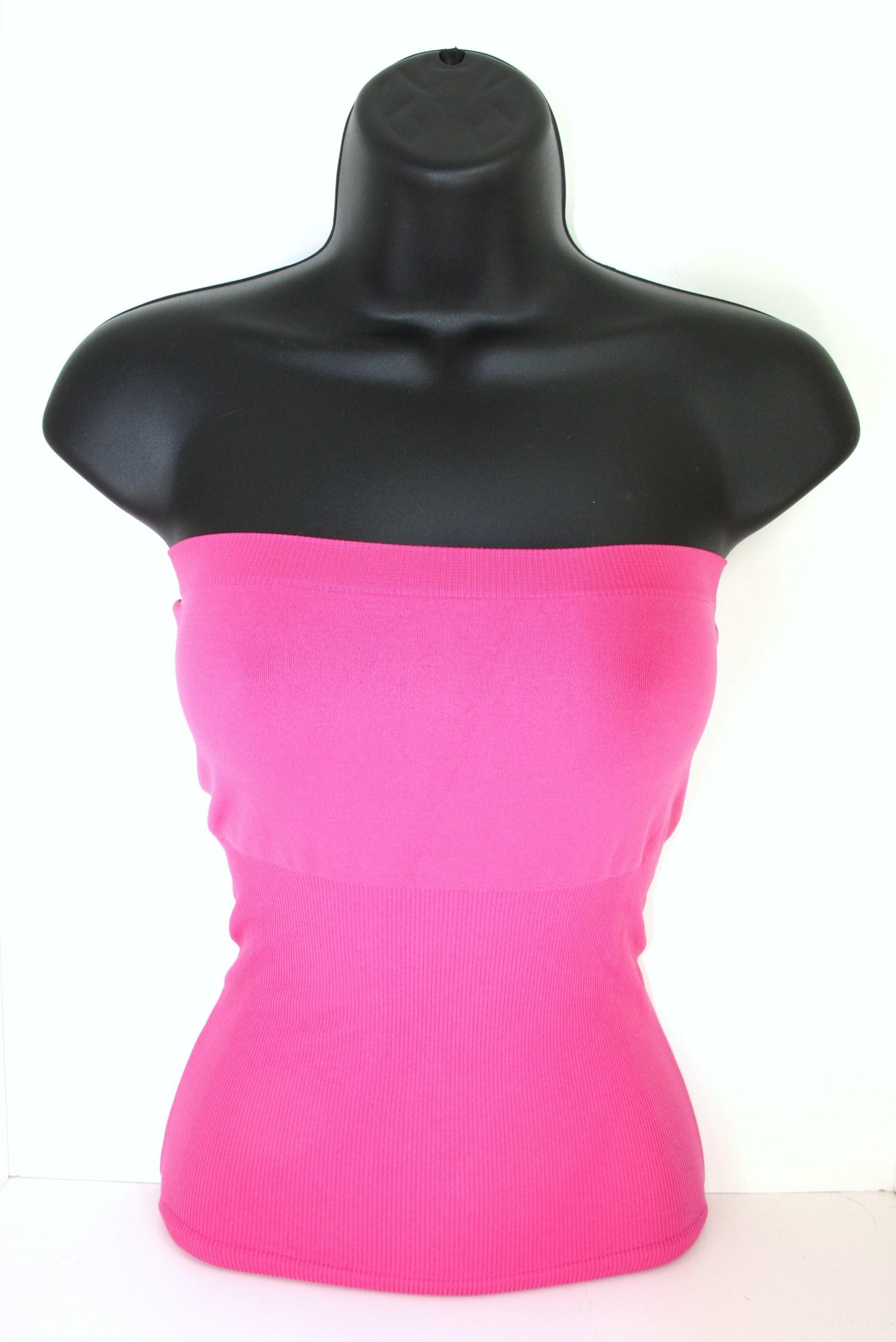 7554fe5dc8e Tube Top - Neon Pink — Kafari Scarf