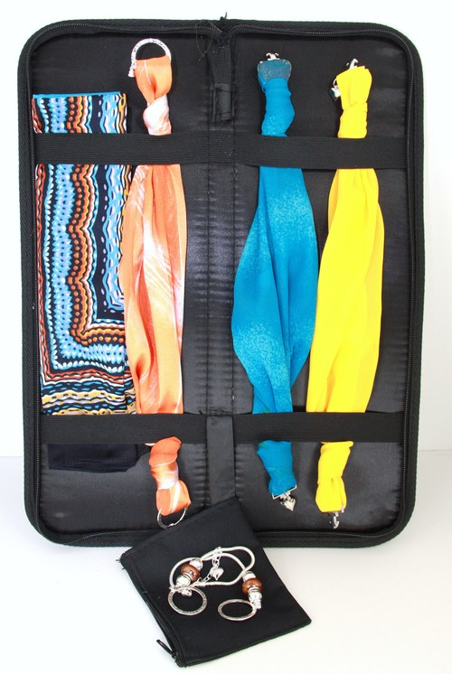 daea70b7338 Travel Case - Ideal for Scarves   Scarf Necklaces — Kafari Scarf