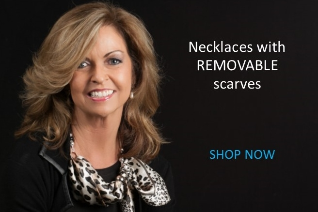 Removable Scarf Necklaces