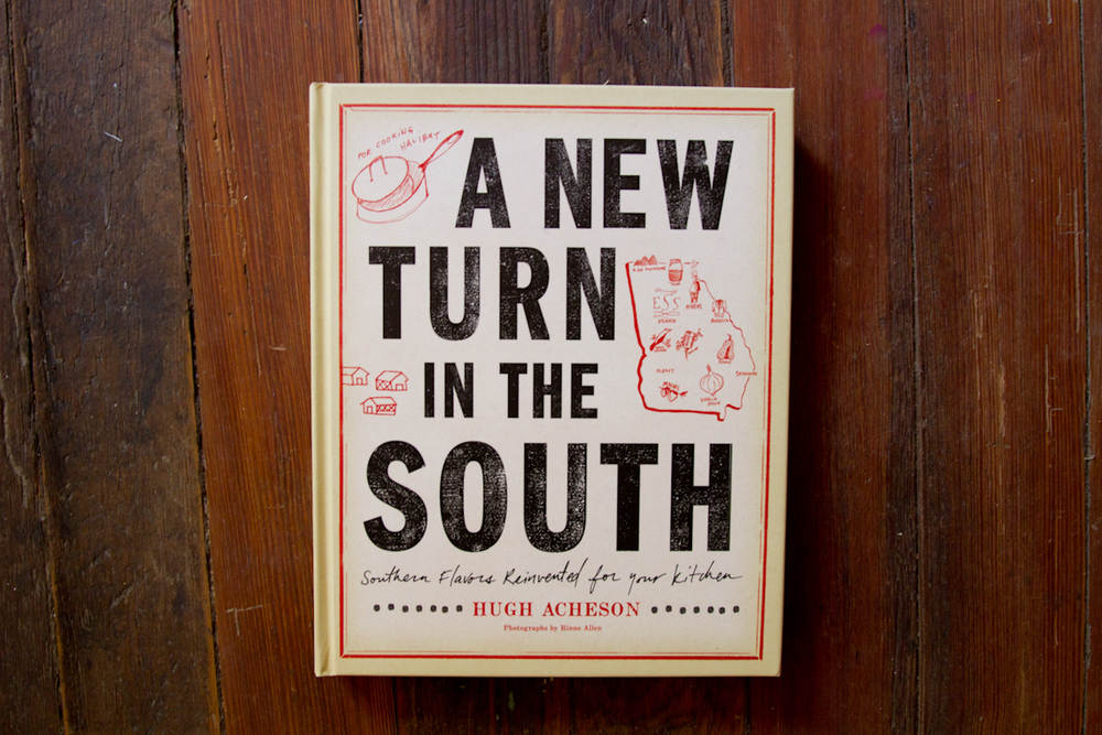 made over the course of three years with chef (and neighbor)  hugh acheson , 'a new turn in the south' went on  to become the james beard award winner for best american cookbook in 2012 .  helping with both art direction and the photography, i enjoyed helping hugh visually articulate his ideas and translate his personality onto the page. we are currently working on our third book together, releasing in spring 2015.