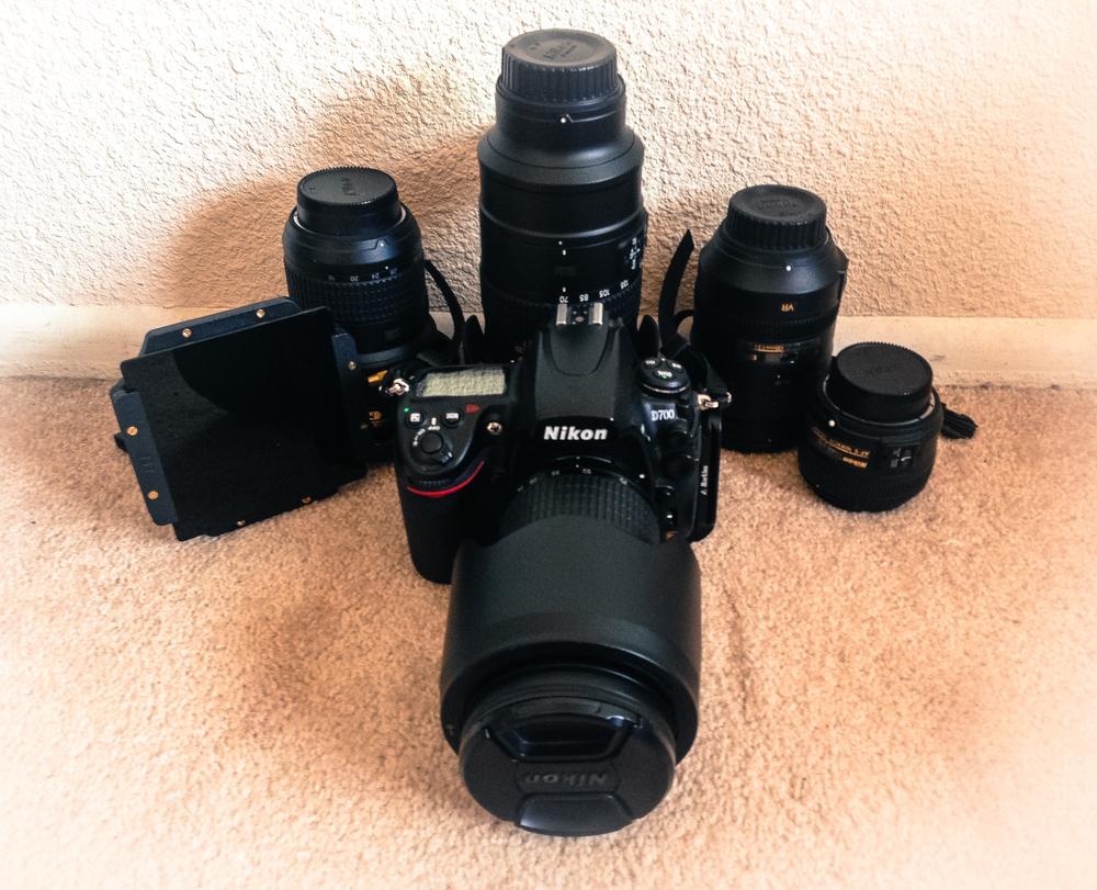 Ben's Nikon Family