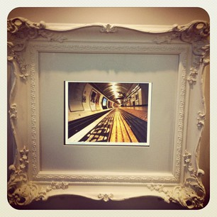 the photo in situ at the transport museum