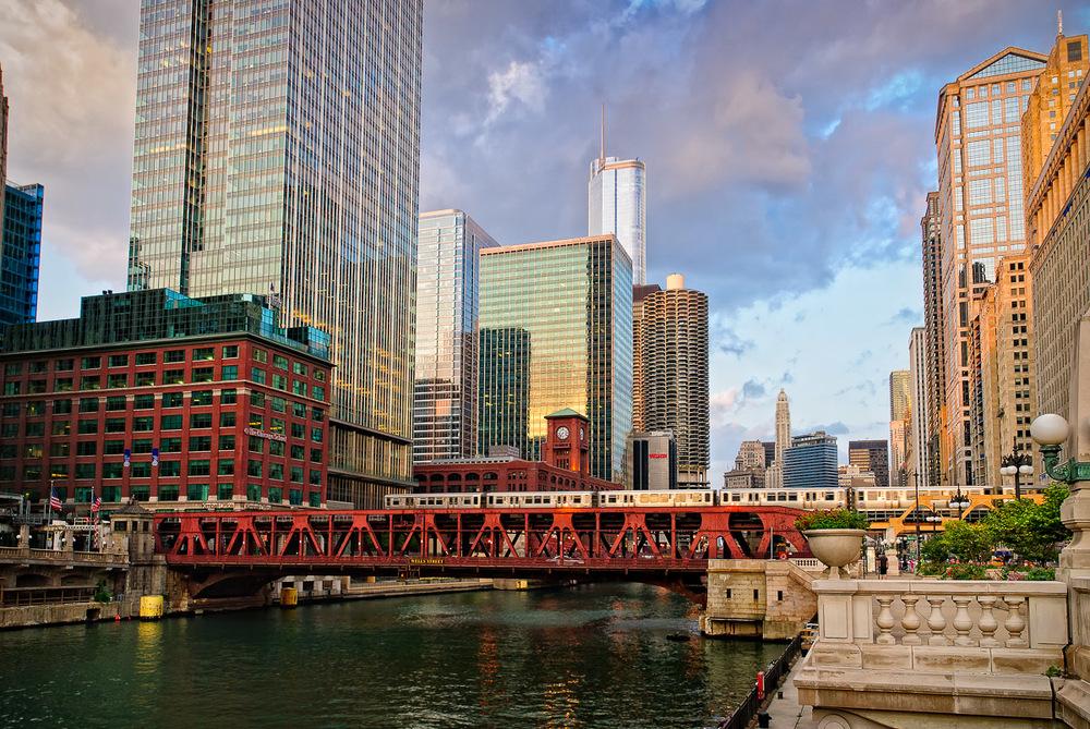 Chicago Pastels