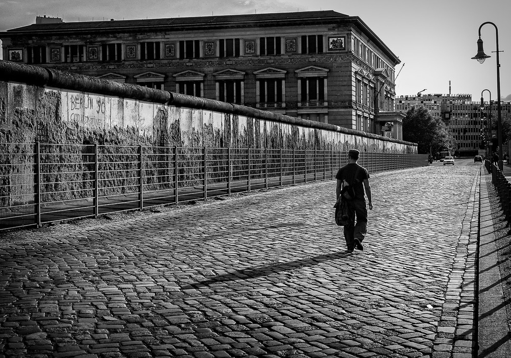 The Berlin Wall and Gestapo Headquarters