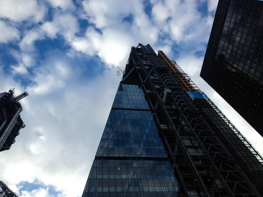 The Leadenhall Building, aka the Cheesegrater