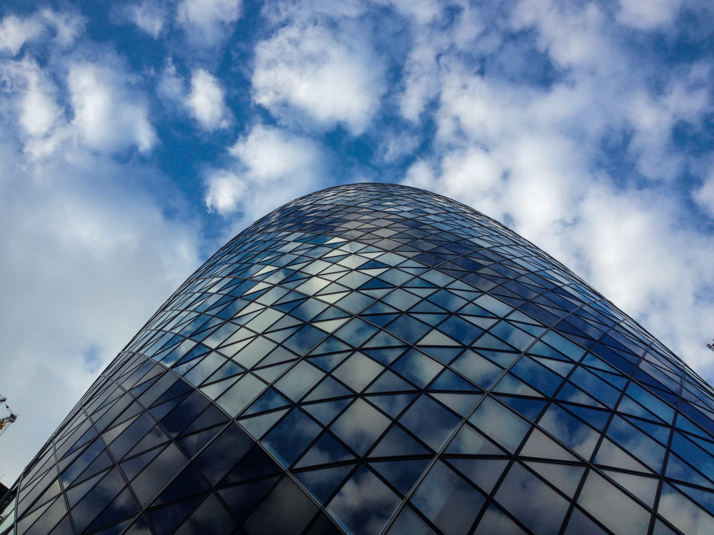 30 St Mary Axe, aka The Gherkin