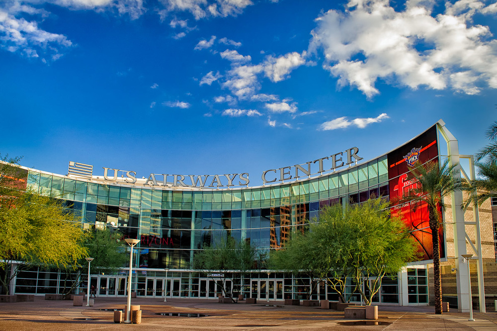 U.S Airways Arena - home to the Phoenix Suns
