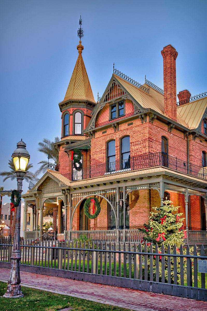 Rosson House in Heritage Square