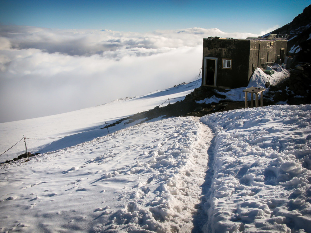 The hut at Camp Muir